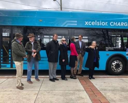 electric transit bus