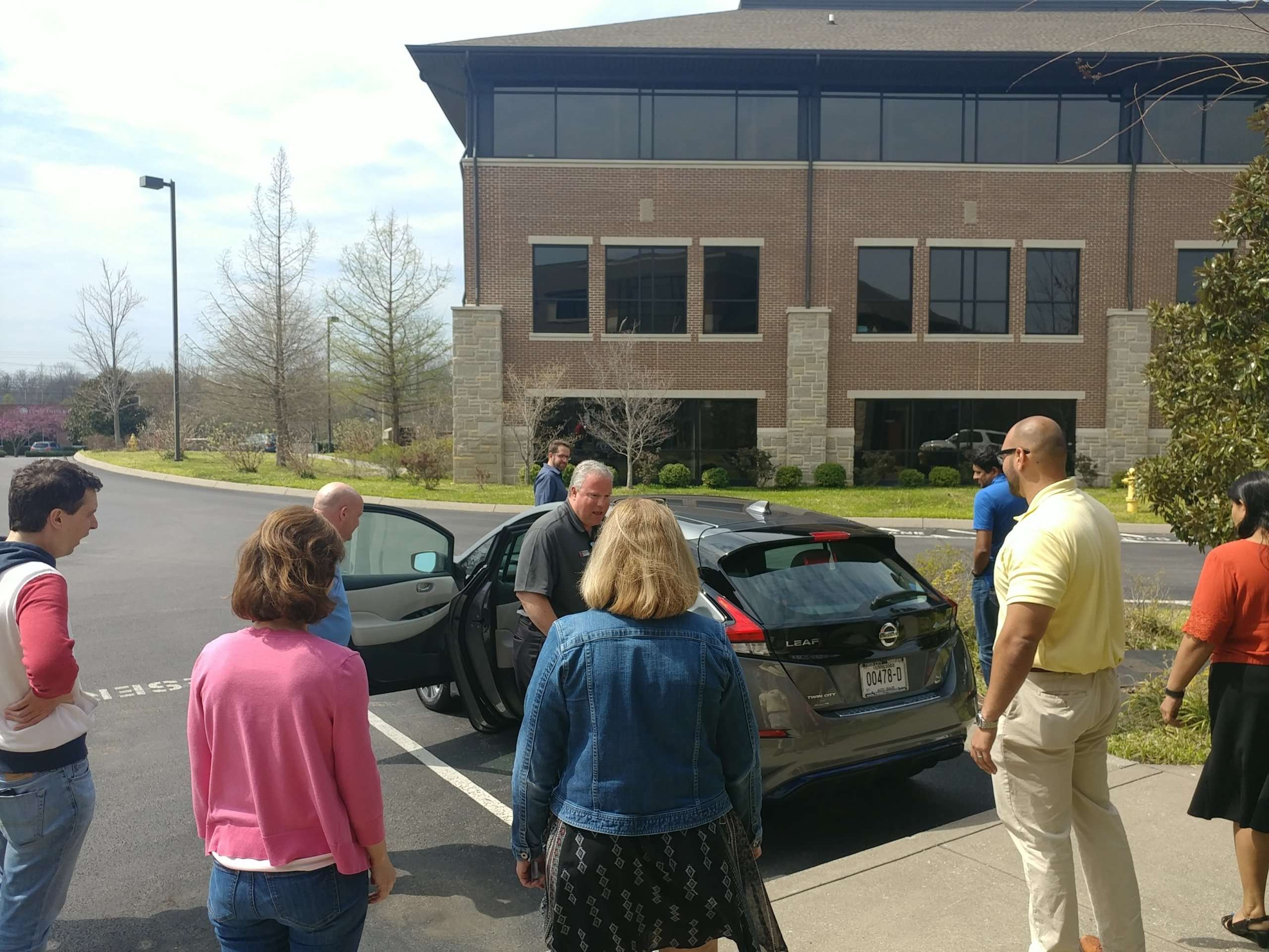 """Tennessee """"EV Experience"""" Workplace Charging Ride & Drive"""