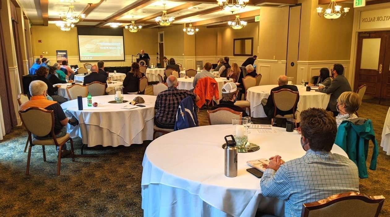 "TDEC Commissioner David Salyers kicks off the ""Driving EV Leadership"" event"